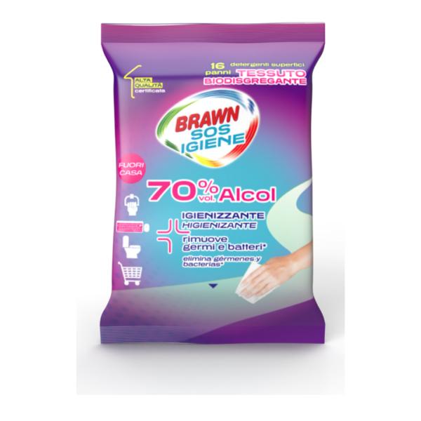 Brawn SOS Igiene - 70% Alcol